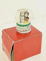 Mickey Mouse 2004 75th Anniversary Mini Snow Globe