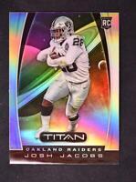 2019 Chronicles Titan #T4 Josh Jacobs - Oakland Raiders