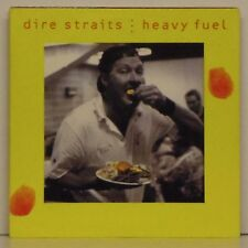 """DIRE STRAITS 'HEAVY FUEL' UK PICTURE SLEEVE 7"""" SINGLE"""