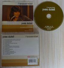 CD L'ESSENTIEL - DUTEIL YVES LE MEILLEUR BEST OF 16 TITRES