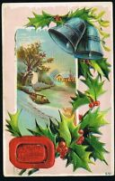 Vintage 1911 Merry Christmas Postcard No. 551