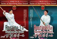Chinese Kungfu - Wansheng Miao Sword Routine I,II by Liang Hongxuan 3DVD