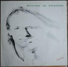 "MAXIME LE FORESTIER ""AFTERSHAVE""  LP"