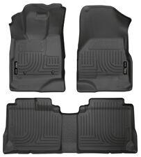 Husky Liners 2010-2017 GMC Terrain / Chevrolet Equinox Floor Mat Set 98131 Black