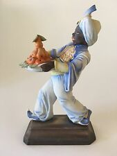 Art Deco Rosenthal Porcelain Blackamoor Figurine Signed by Hugo Meisel 1931