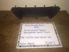2010 Honda Pilot Navigation Instrument Panel Lower Trim/Part # 77275-SZA-A310-20