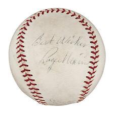 1961 Roger Maris & Mickey Mantle Signed Autographed AL Cronin Baseball PSA DNA