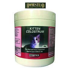 Net-Tex First Life Kitten Colostrum - 100g Newborn Milk with Antibodies