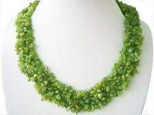 Gorgeous Necklace from Peridot 47cm Long