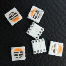 50pcs RGBWW RGBW RGB+Warm White LED Chip Bead 4 Colors in 1 LED RGB 5050 SMD New
