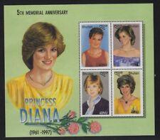 Bhutan 2003 Princess Diana S/S Sc# 1384 NH