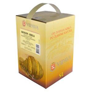 Vipava 1894 Weißwein Bag in Box 5 Liter