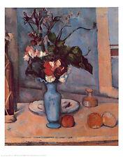 Paul Cezanne Blue Vase Poster Kunstdruck Bild 72x57cm
