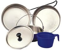 Stainless Steel Military 5 Piece Mess Kit