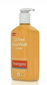2x Neutrogena Oil-Free Face Wash Acne Fighting Facial Cleanser 2x177ml