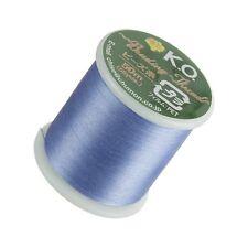KO Light Blue Japanese Nylon Beading Thread 50 Metre Reel Pre-waxed (D50/8)