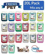 FRESH PET 4x5L MIX MATCH PACK Kennel Disinfectant Cattery Cleaner & Deodoriser