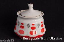 Vintage porcelain Sugar-bowl USSR СССР Soviet period Sumy Factory PD60