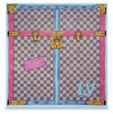 LOUIS VUITTON Trunk Damier Azur Scarf Bandana Very Limited Edition SOLD OUT