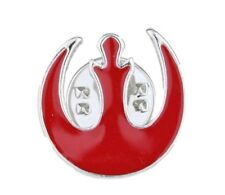 Red/Silver Metal Enamel Pin Star Wars Red Rebel Forces