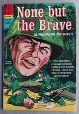 1965 None But The Brave Comic Book (Frank Sinatra on cover) Dell 12-cent