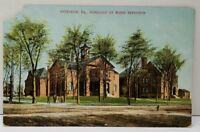 Pittston Pa SCHOOLS AT WEST PITTSTON Postcard E14