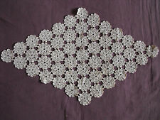 #1059 Beautiful Vintage Hand Made Table Runner 57cm/34cm(22''x 13'')