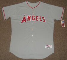 Los Angeles Angels Grey Authentic Jersey sz 52 Majestic New Mens LA