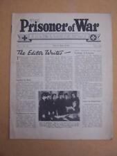 The Prisoner of War Red Cross & St John War organisation. No36 April 1945