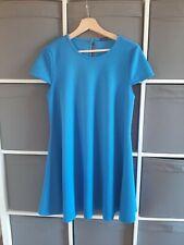 Primark textured blue short summer dress size 14 clothing