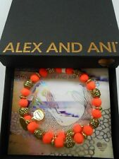 Alex and Ani Season of Serendipity Mango Electric Wrap Bracelet V17W21RG