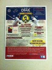 2011 Tri-Star OBAK Baseball Product Promotional Pamphlet/Sheet (Mike Trout/Ford)