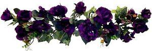 "30"" Swag Artificial Rose Hydrangea Silk Flowers Wedding Arch Table Runner Fake"
