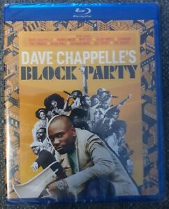 Dave Chappelle's Block Party Blu-ray Brand New Sealed Region A