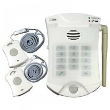 Auto Dial Panic Alarm with Two Panic Buttons - Elderly Disabled OAP Panic Alarm