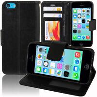 Etui Coque Housse Portefeuille Rabat Cuir PU pour Apple iPhone 5C