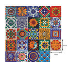24pcs Mosaic Tile Wall Stickers Self-adhesive Decal Kitchen Bathroom Home Decor