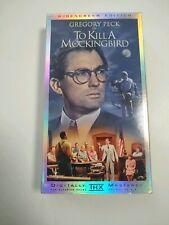 To Kill A Mockingbird (Vhs,1962 ) Gregory Peck Digitally Mastered Widescreen