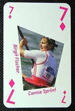 London 2012 Olympic Legend Game / Playing Card Rowing Matthew Pinsent #jc