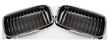 BMW 7 E38 99-01 2x Parrilla de parachoques Delantero Izquierda+Derecha Cromo