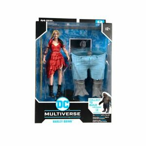 McFarlane DC Multiverse Harley Quinn with SUICIDE SQUAD KING SHARK BAF IN STOCK!