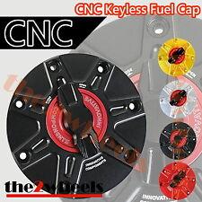 1/4 Turn CNC Keyless Racing Quick Open Gas Fuel Cap for Honda CBR1000RR 04-13