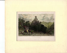 Thomas allom INCISI stampa-zwingenberg Castle, Borsa (c.1830-40)