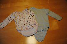 2 er Set Schöne Jungen Baby Body`s ★ Baby Kleidung ★ Kurz-Langarm ★ Gr. 74/80