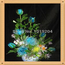 100 UNIDADES semillas de flores de cristal natural mágico colorido Seeds Inicio Jardín Decoración
