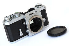 NIKON F IN CHROME - 1969 - EXCELLENT! *A STUNNING EXAMPLE OF THIS SEMINAL SLR!*
