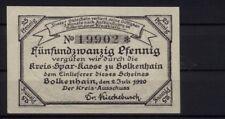 [15598] - Notgeld BOLKENHAIN (heute: Bolków), Kreis-Ausschuss, 25 Pf, 02.07.1920