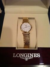NEW WITH TAGS & BOX--Longines La Grande Classique 234mm Watch for Women Gold