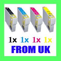 4 INK CARTRIDGE FOR EPSON S22 SX125 SX130 SX235W SX420W SX425W SX435W SX445W