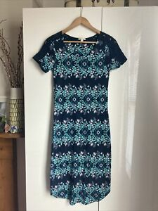 Ladies White Stuff Summer Dress Size 8